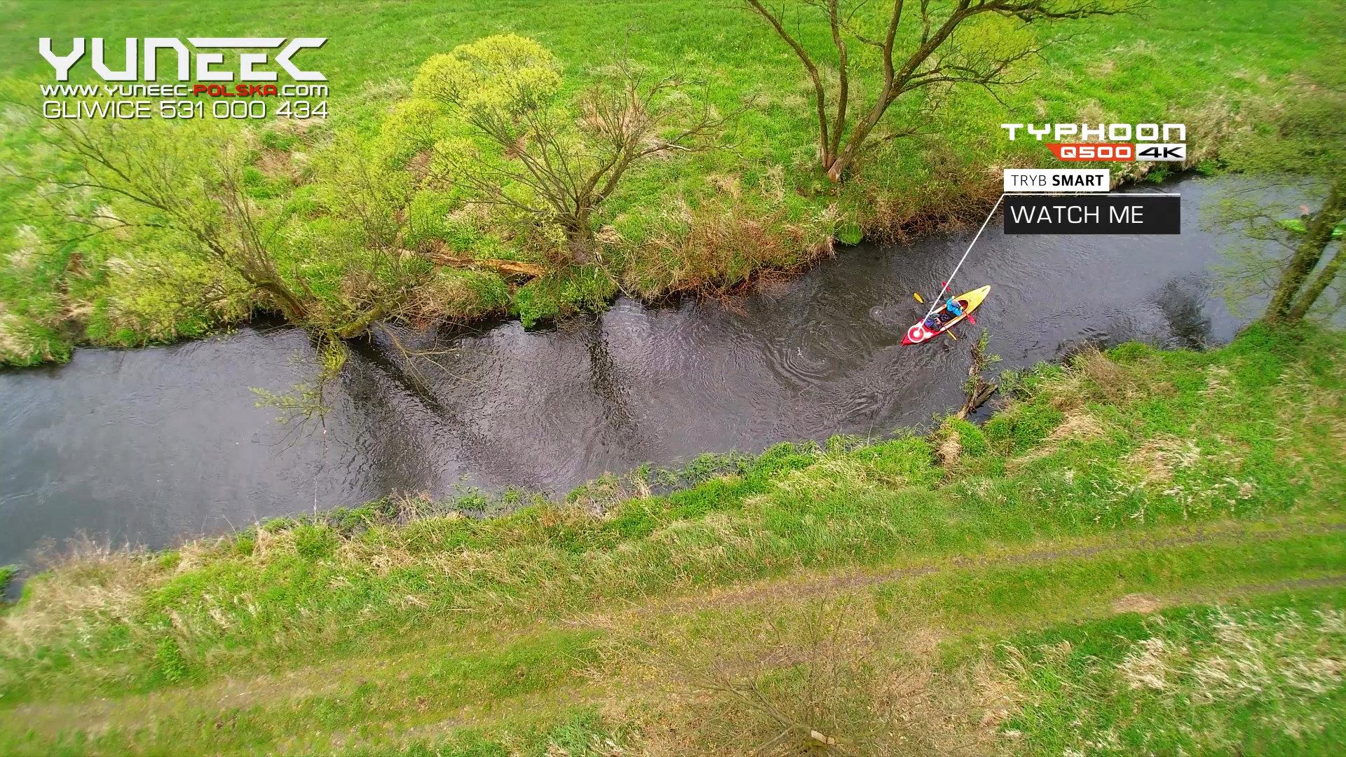 #Yuneec #TyphoonQ5004K #Kayak