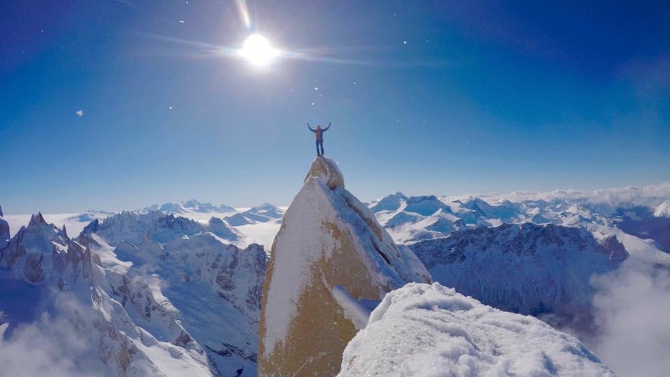 Aguja Guillaumet – zimowe wejście w Patagonii