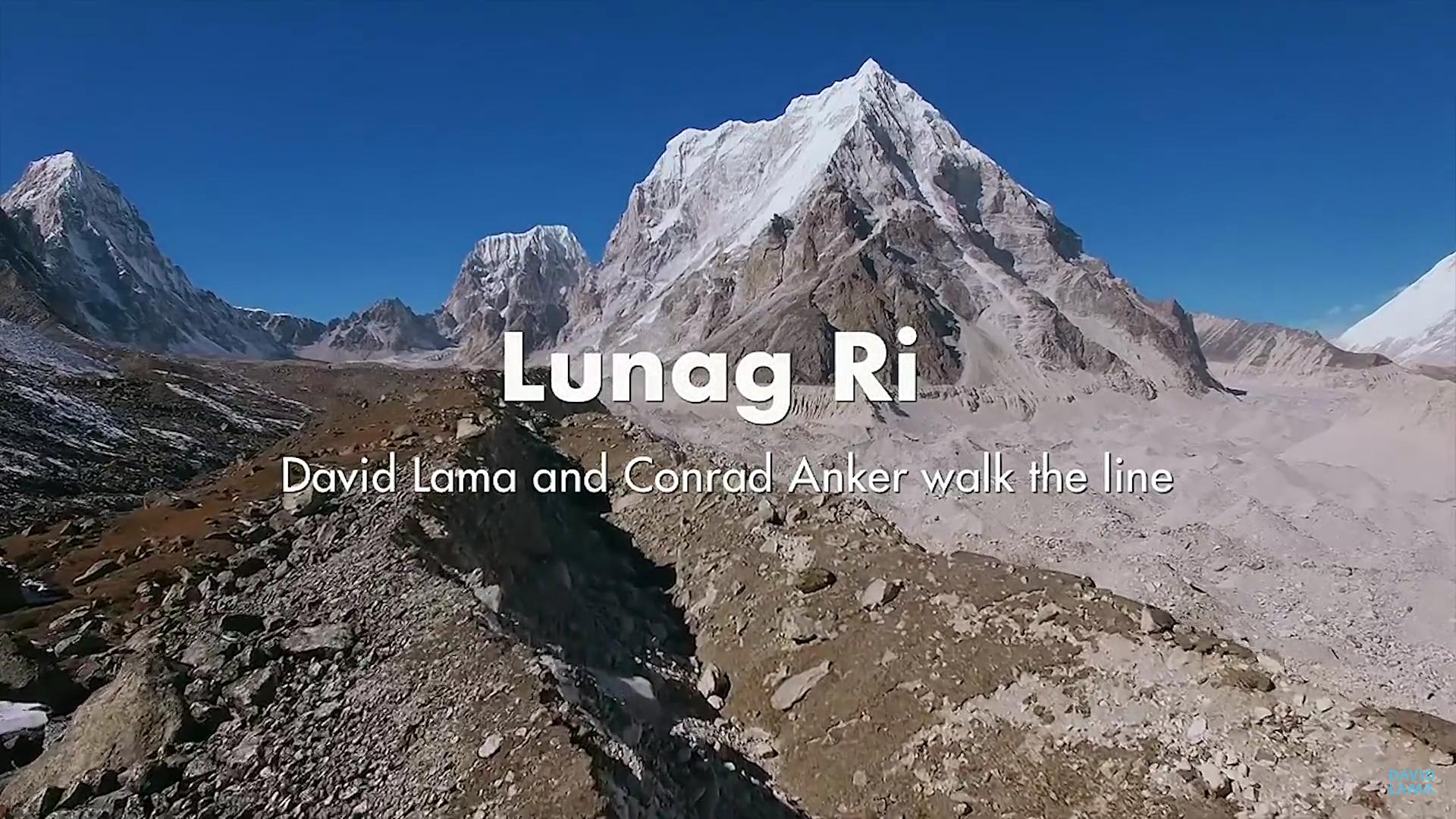 Lunag Ri – David Lama & Conrad Anker